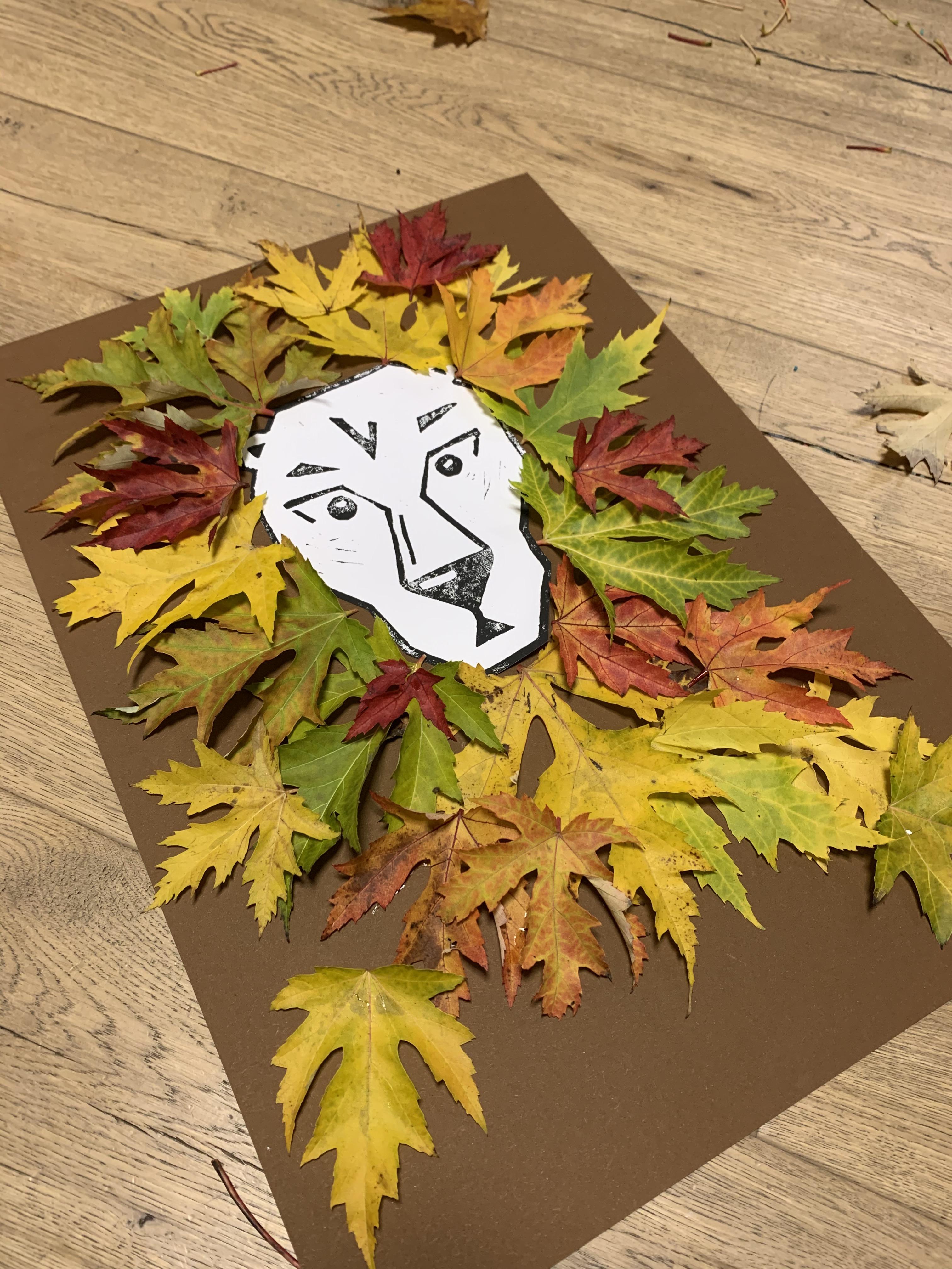 Blätter Löwe